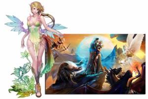Агрессия и нежность в фэнтези онлайн игре Blood and Soul