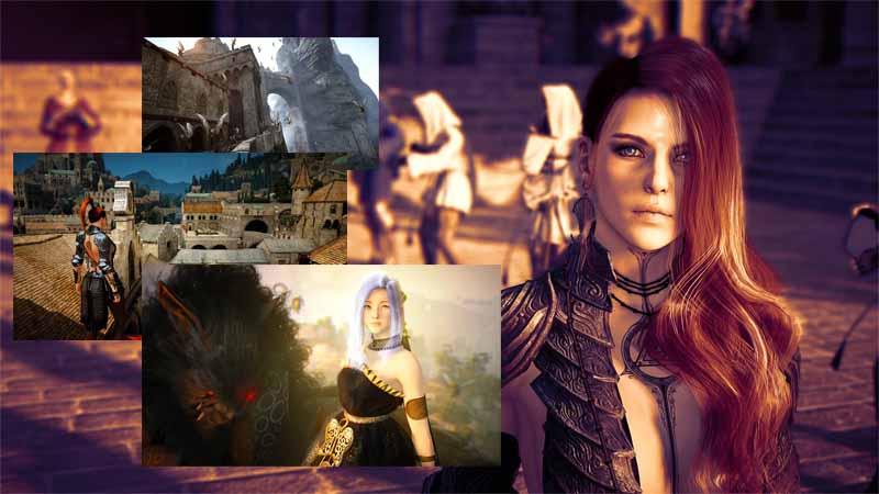 Онлайн игра Black Desert скриншоты