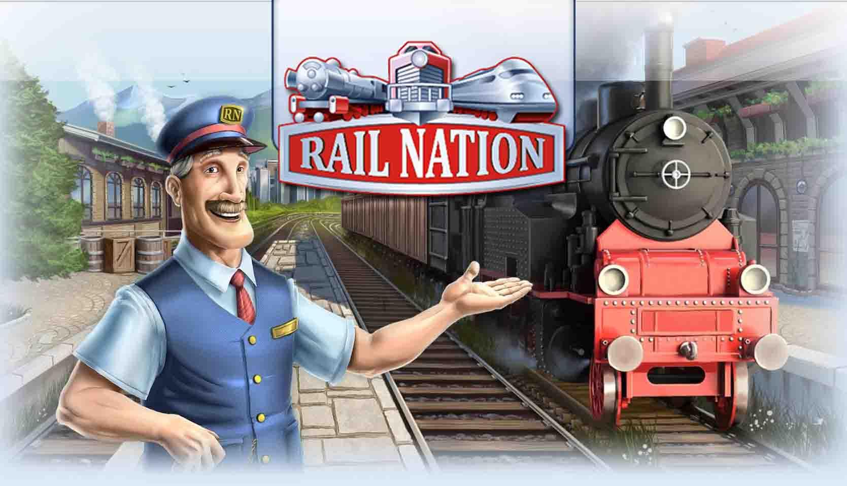 Rail Nation - бесплатная стратегическая игра о железных дорогах