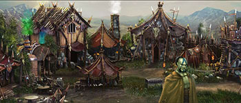 Razdor-online-game-ork-village