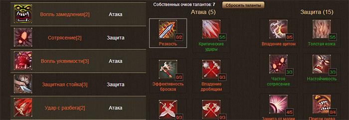 Раздор онлайн игра Razdor-online-game-talants