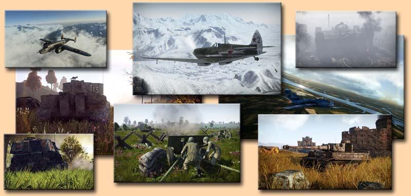 War Thunder скриншоты игры