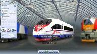 Скриншоты с игре про поезда